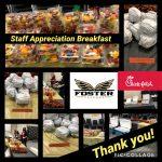 Staff Appreciation Breakfast is a success!