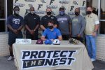 Luke Capel signs with North Central Texas College