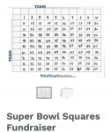 Black & Gold Bash 2021 Super Bowl Squares now available!