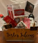 Sneak Peek:  Auction Basket donated by the Foster Volleyball Teams!