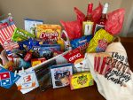 Sneak Peek:  Auction Basket donated by the Foster Football Teams!