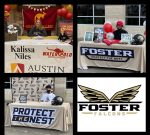 Foster Falcons commit to play at the next level.