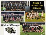 The Men and Women's Falcon Soccer Teams Are Your District Champions!