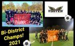 Men & Women Falcons are Bi-District Champions!
