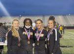 Girls Track Qualify for Regionals