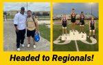 Cunningham & Cincone advanced to Regionals