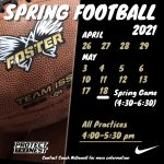 Spring Football is HERE!