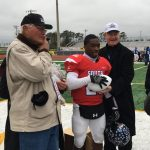Kris Copeland named South MVP in North/South All-Star Football Game