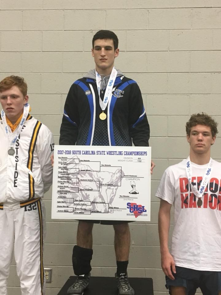 Jacob D'Ambrosio wins 4A State Individual Wrestling Championship, Cobras shine at State Finals