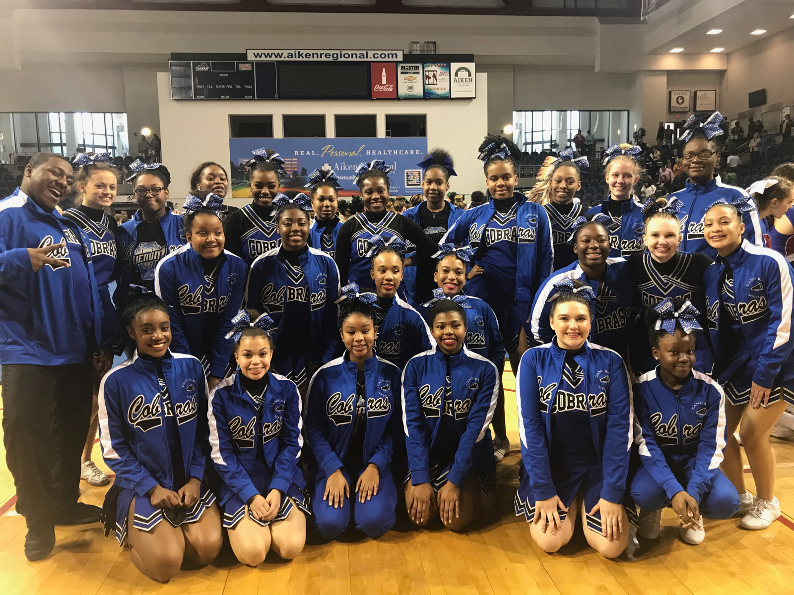 Cane Bay Spirit Cheer finishes 5A State Runner-up at SCHSL Game Day Cheer Invitational