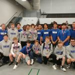 Varsity Wrestling finishes 1st place at May River Invitational