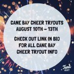 2020 Cane Bay Cheer Tryout Information
