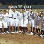 Softball Lady Cats Win Home Opener