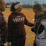 She's Back!!  Softball Coach Returns