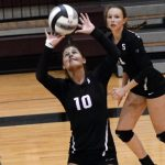 Lady Cat Volleyballers Have Good Tournament at Princeton