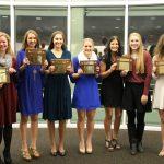 Volleyball Award Winners At Fall Banquet