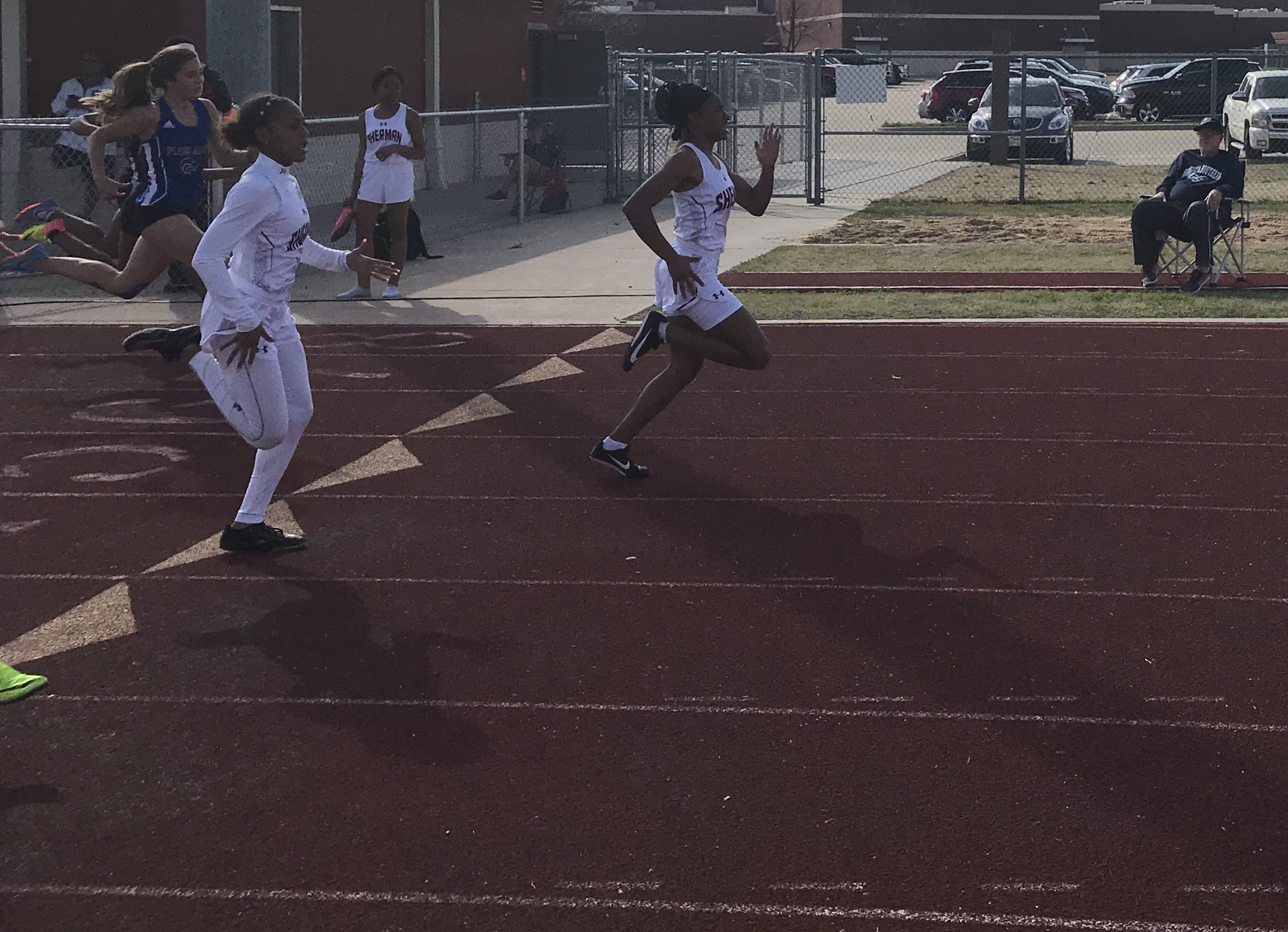 Girls Track and Field Competes at Celina