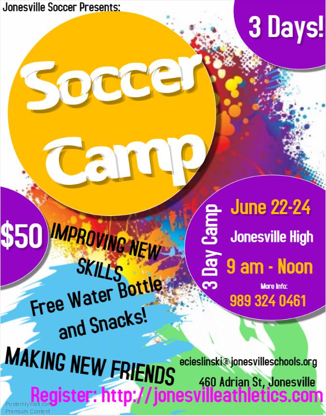 Soccer Camp!