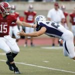 North Football Drops First Road Test