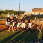 North Varsity Softball Takes Down South