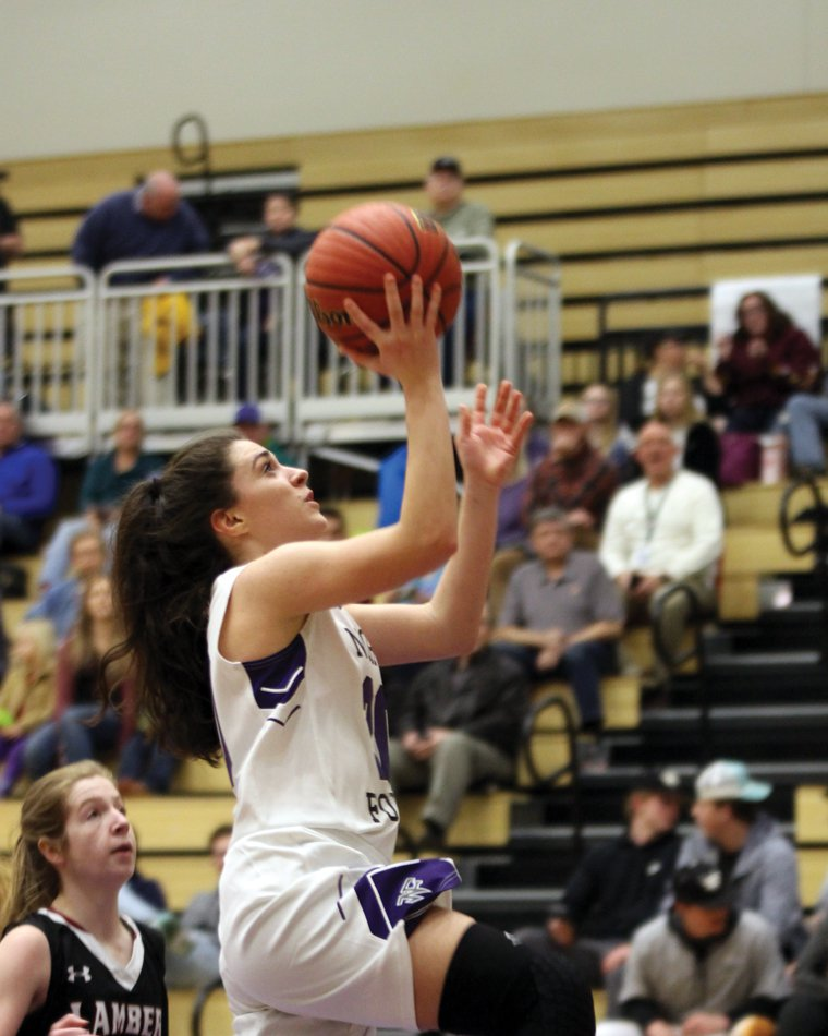 Basketball: North Girls Blow Out Lambert