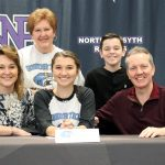 North Forsyth celebrates 7 athletes signing scholarships