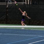 Girls Tennis: Lady Raiders Fall To South, Jordan Wins at #1 Singles.