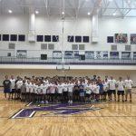 Boys Basketball: Camp Enjoys Huge Turnout