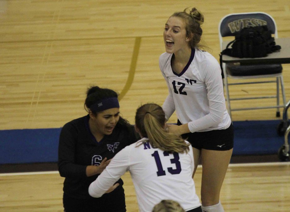 Volleyball: North flashes talent, potential in sweep against West