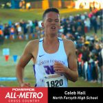 Boys Cross Country: Hall Named To All-Metro Team
