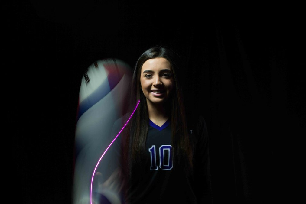 Volleyball: Enright Named County Player Of The Year