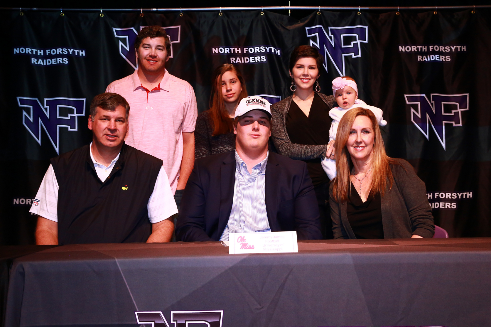 Football: James Signs Letter of Intent to Play at Ole Miss