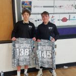 Wrestling: Bissell and Watkins Win Region Championships