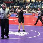 Wrestling: Eglian and Watkins Advance to State Finals