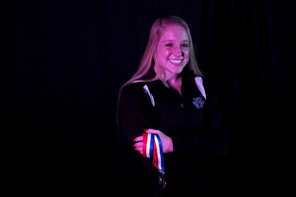 Hailey Galbraith Named Forsyth County Girls Swimmer of the Year