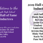 All Sports: Hall of Fame Induction Ceremony next Friday