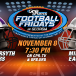 Football: Milton game to be broadcast/streamed via GPB (update again with HYPE VIDEO)