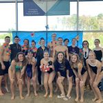 Varsity Swimming finishes 2nd place at Tri Meet vs. Forsyth Central & West Forsyth