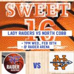 Girls Basketball: Lady Raiders bid to move to Elite 8 on Wednesday