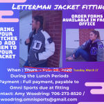 All Varsity Sports: Letter jacket date RESCHEDULED