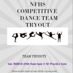 Dance Team Tryouts – postponed