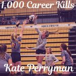 Volleyball: Perryman notches milestone