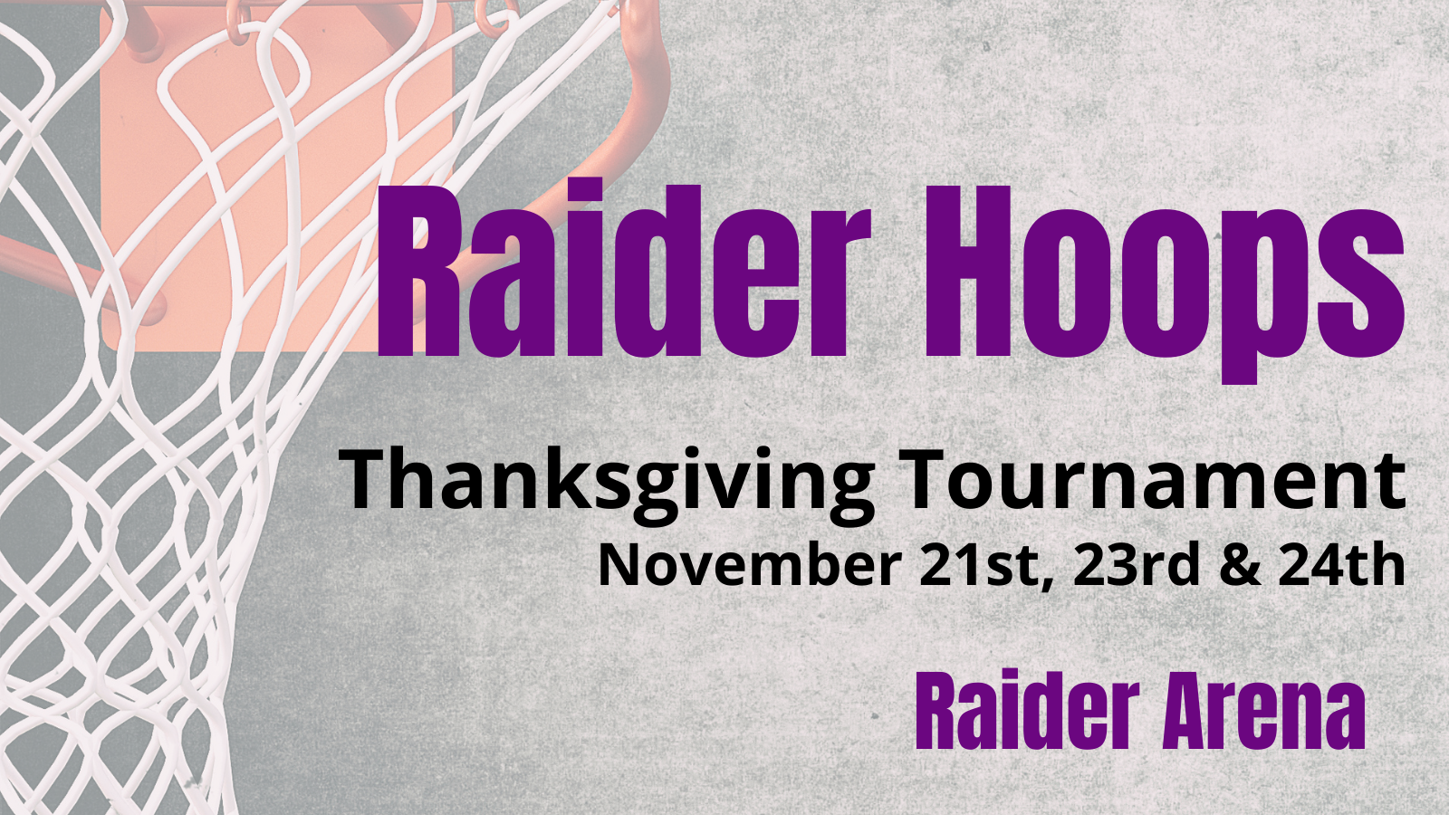 Boys and Girls Basketball: Important tournament info
