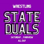 Wrestling: State Duals Saturday at Parkview HS