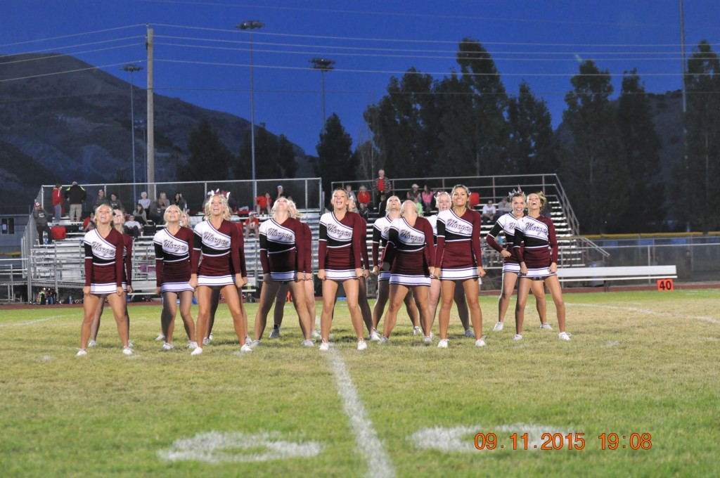 2018-2019 Morgan High School Cheer Squad