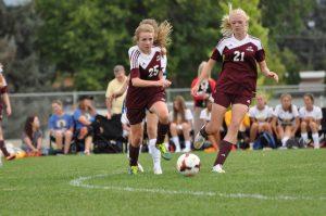 Girls Soccer Morgan at Orem