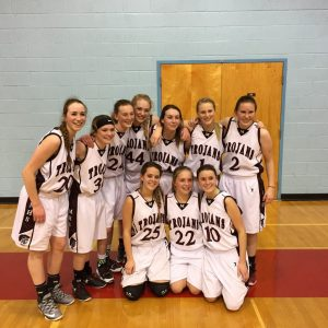 Lady Trojan Freshman Basketball Tournament