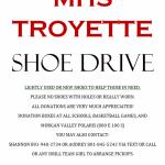 MHS Troyettes Shoe Drive