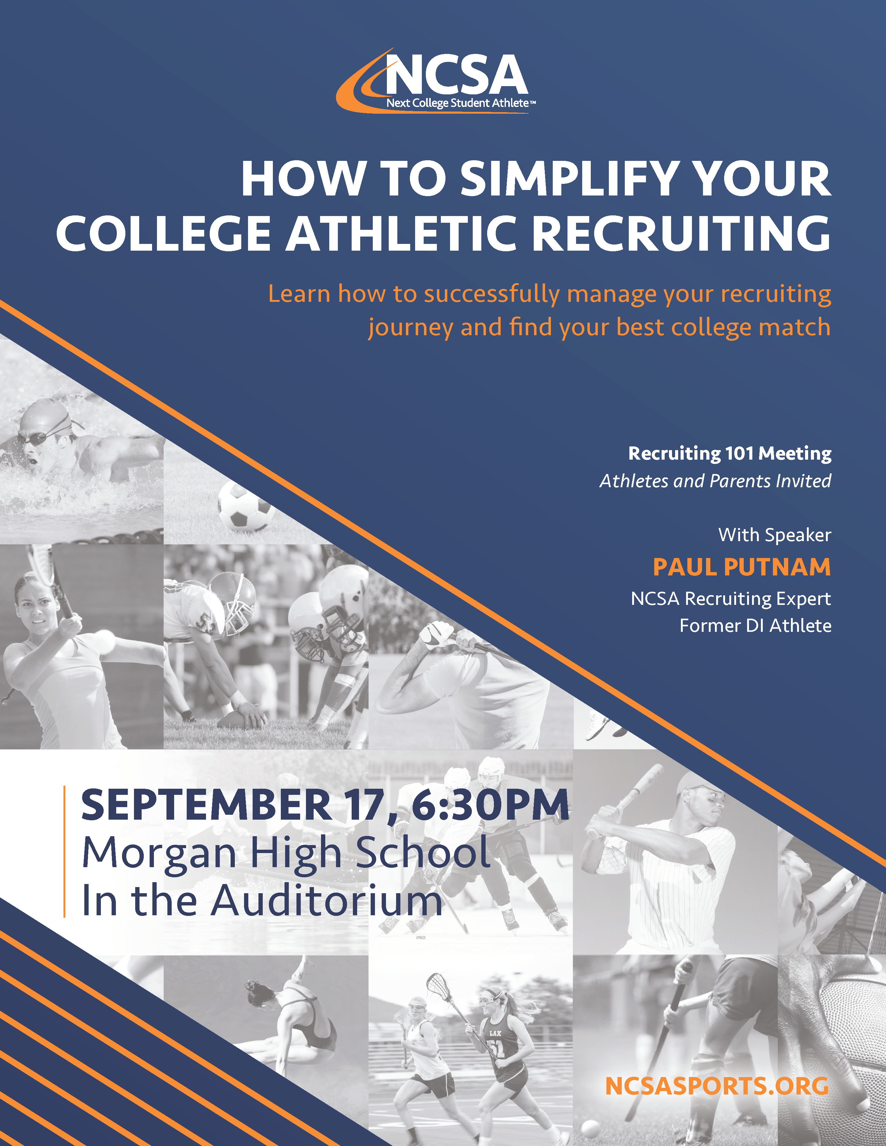 How to Simplify Your College Athletic Recruiting Presentation