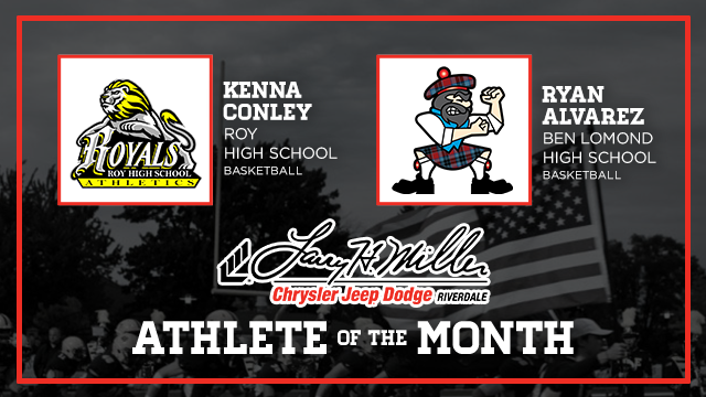 And the Larry H. Miller in Riverdale December Athlete of the Month is….